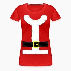 Santa Clause Chick Costume T-Shirt