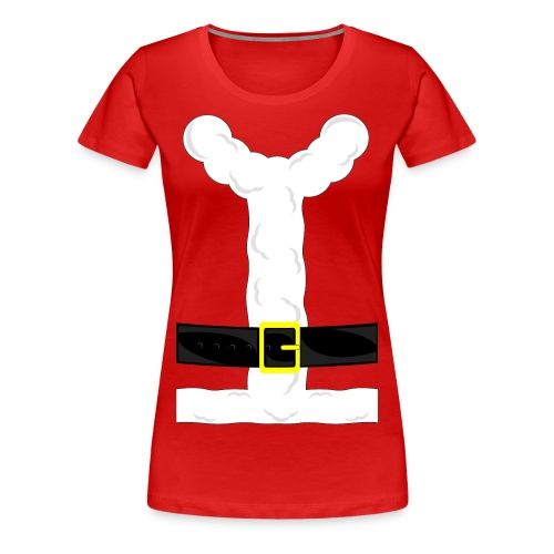 Santa Clause Chick Costume T-Shirt - Women's Premium T-Shirt