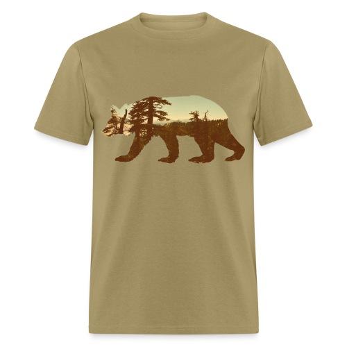 Cali bear - Men's T-Shirt
