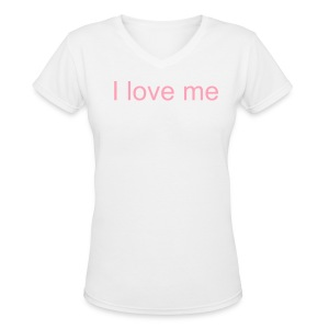 Women's V-Neck T-Shirt - When you buy this product you give $ 10 in support of green futuristic project. All products in lpas-gard party gives $ 10 in support of the project. Thanks for your support.