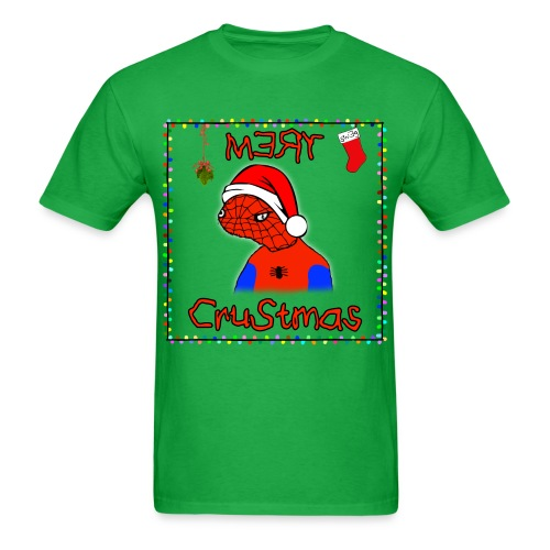 Mery Crustmas (RED TEXT) - Men's T-Shirt