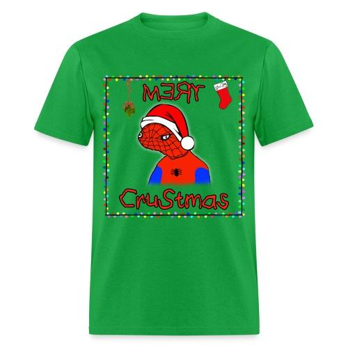 Mery Crustmas (RED TEXT) - Men's T-Shirt