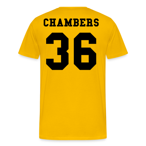 36 Chambers - Yellow - Men's Premium T-Shirt