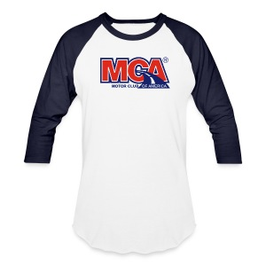 Mens Blue/White Baseball Shirt - Baseball T-Shirt