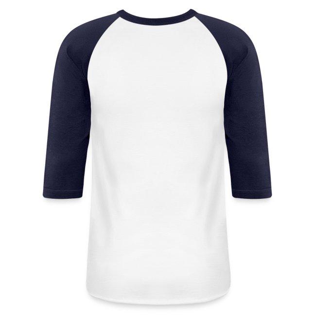 Mens Blue/White Baseball Shirt
