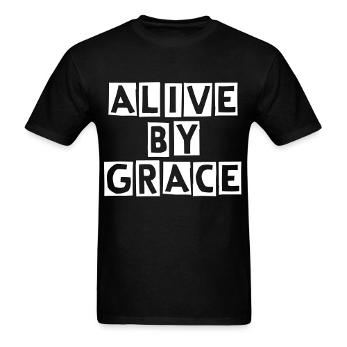 Alive by GRACE Edition 1 Tee (Men) - Men's T-Shirt