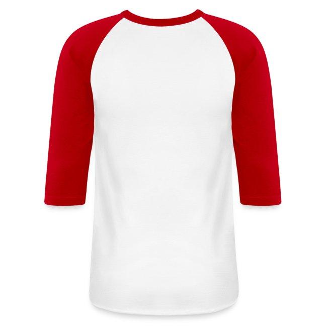The Mca Store Mens Redwhite Baseball Shirt Baseball T Shirt