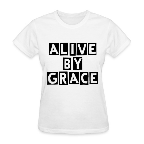 Alive by GRACE Edition 1 Tee (Ladies) - Women's T-Shirt
