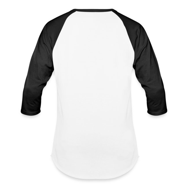 Mens Black/White Baseball Shirt
