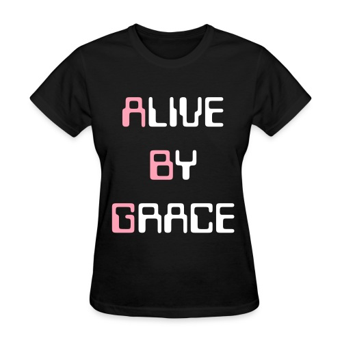 Alive by GRACE Edition 5 Tee (Ladies) - Women's T-Shirt