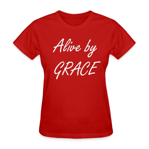 Alive by GRACE Edition 6 Tee (Ladies) - Women's T-Shirt