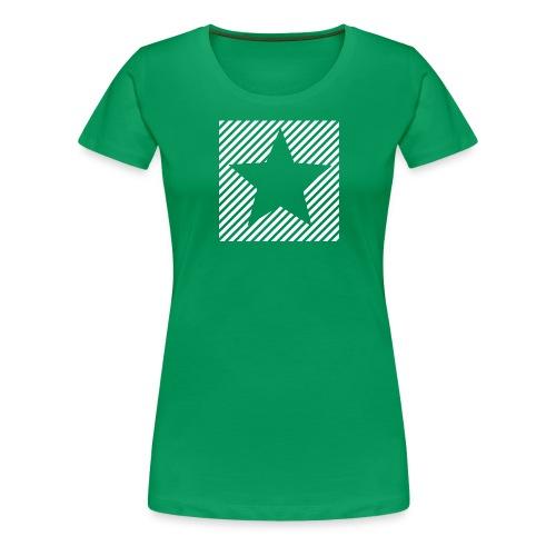 Lineoj Kaj Stelo (Feminine) - Women's Premium T-Shirt