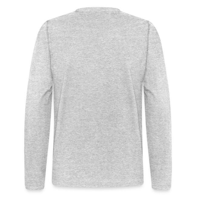 Mens Long Sleeve Gray Shirt