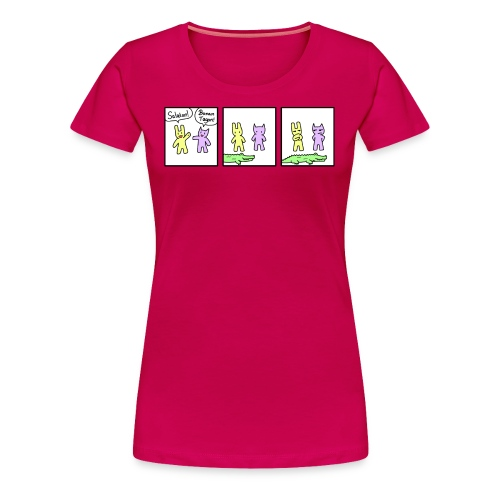 Krokodilo (Feminine) - Women's Premium T-Shirt