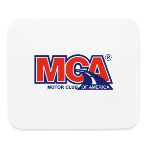 White Mouse Pad - Mouse pad Horizontal