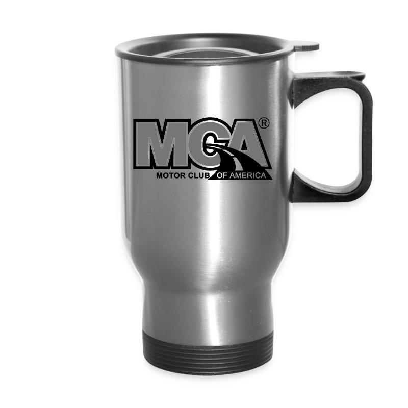 Silver Thermal Travel Mug - Travel Mug