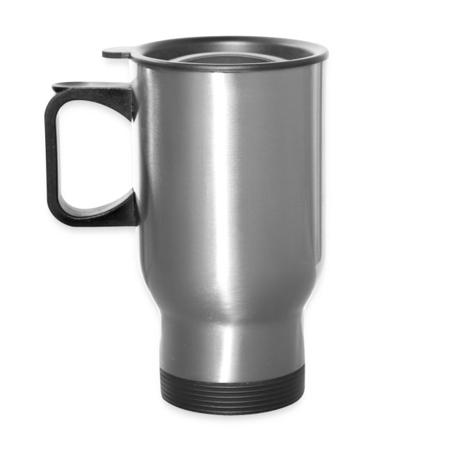 Silver Thermal Travel Mug