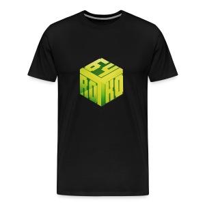 Royko64 Premium Logo Tee - Men's Premium T-Shirt
