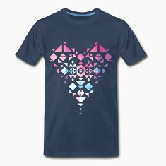 Aztec/Triangle Heart T-Shirts