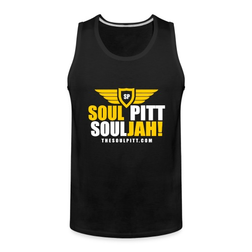 Soul Pitt SOULjah - Men's Premium Tank