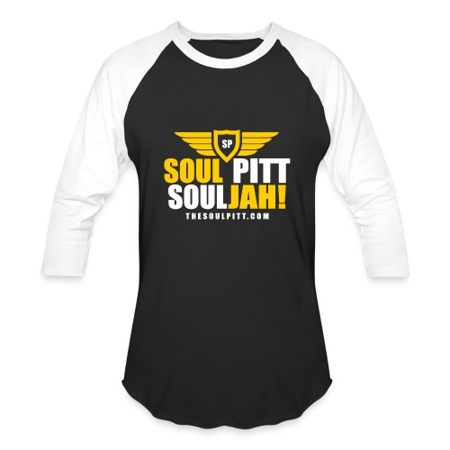 Soul Pitt SOULjah B/W Long Sleeve Tee - Baseball T-Shirt