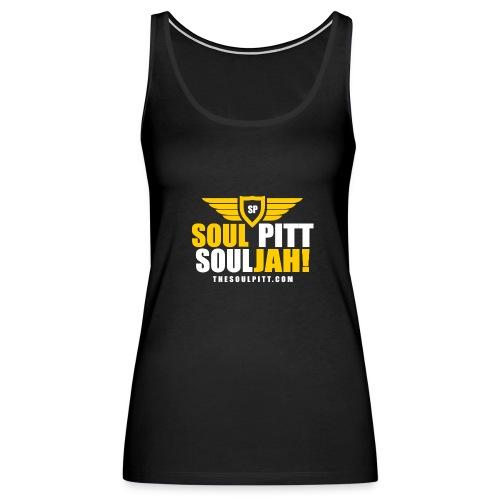 Soul Pitt SOULjah Tank Top Tee - Women's Premium Tank Top