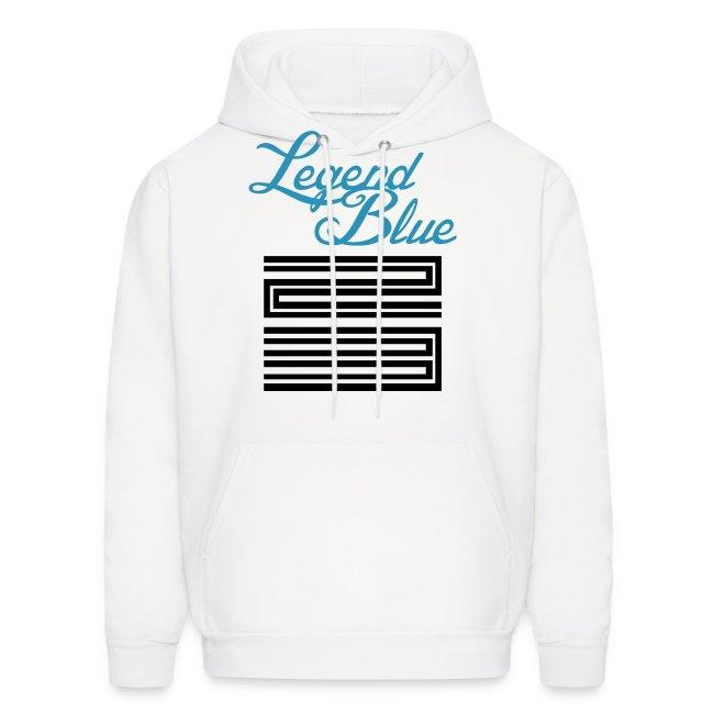 790f48666d16 Jordan Retro 11 Legend Blue Hoodie