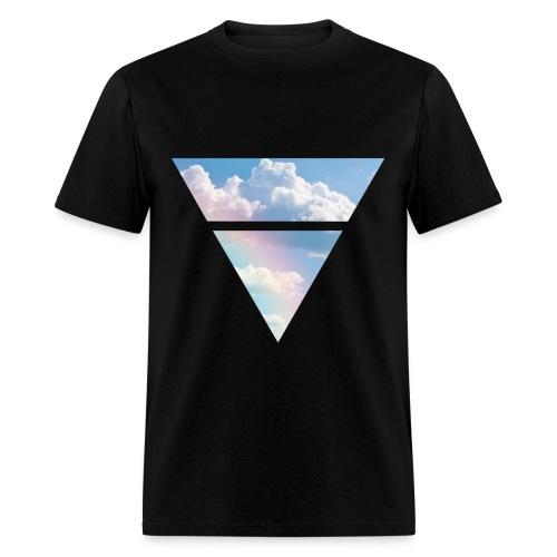 Triangle Clouds - Men's T-Shirt