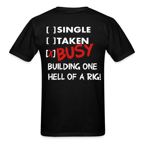 I love 4WD (Tee) - Men's T-Shirt