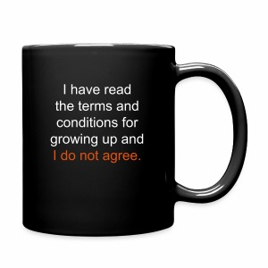 I Have Read the Terms Full Color Mug - Full Color Mug