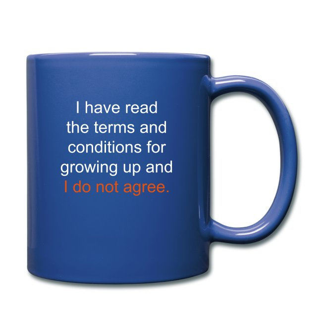 I Have Read the Terms Full Color Mug