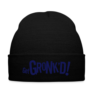 Get Gronk'd - Knit Cap with Cuff Print