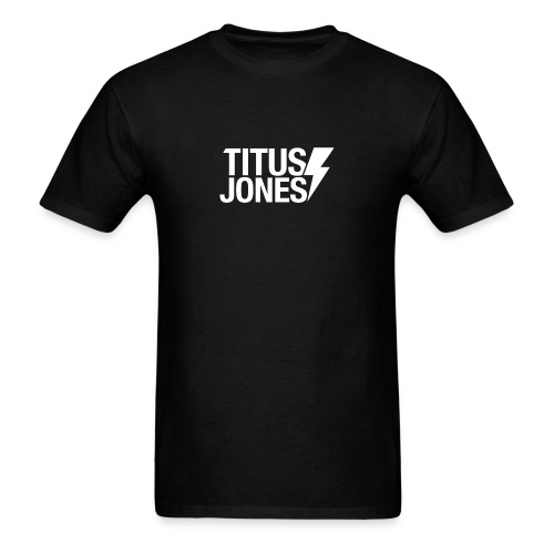 TJ Logo (Black Tee) - Men's T-Shirt