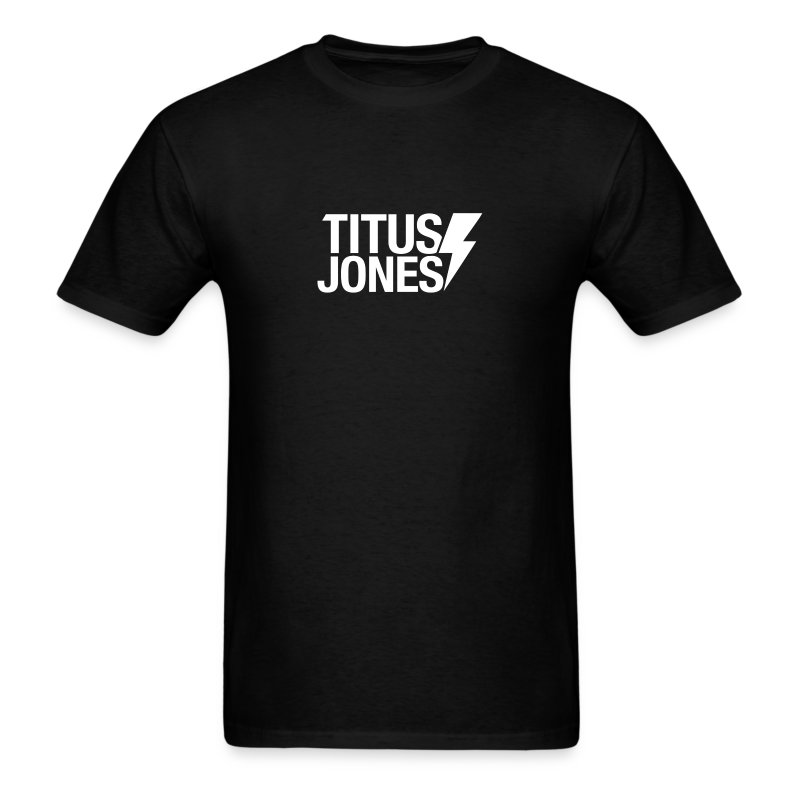 TJ Logo (Black Tee) - Men's T-Shirt