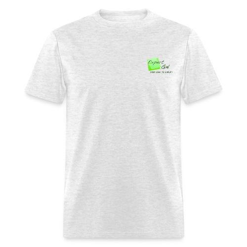 Expert GN Pocket Logo - Men's T-Shirt