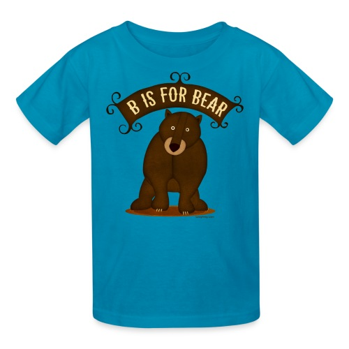 B is for Bear - Kids' T-Shirt