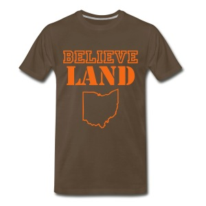 BELIEVE LAND - Men's Premium T-Shirt