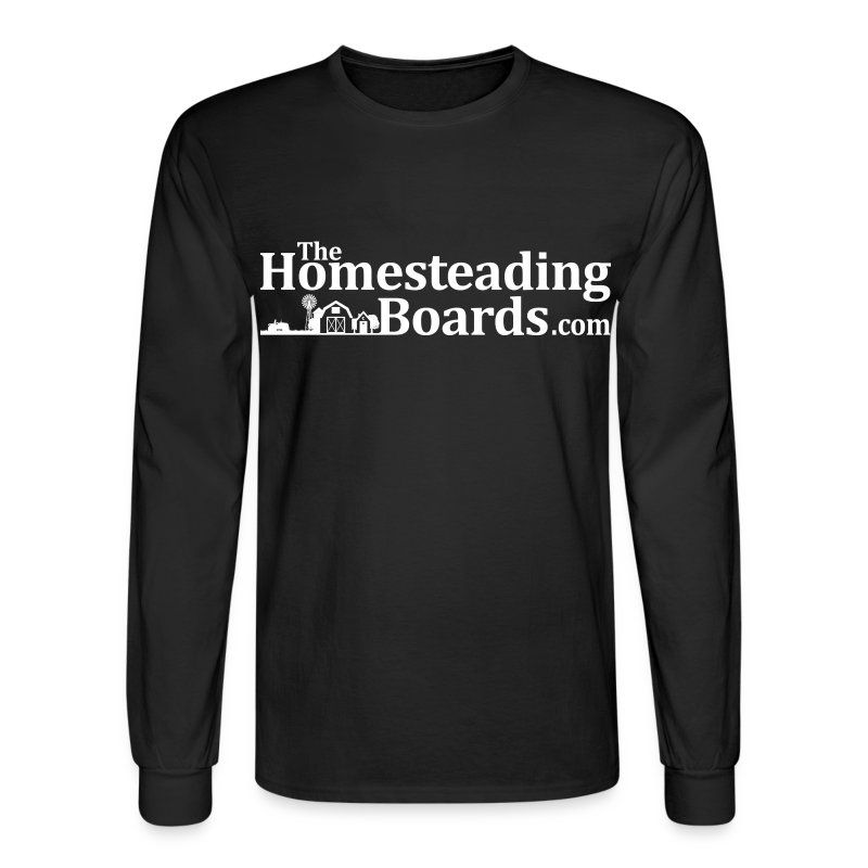 THB-Black-Logo-BW-02.png - Men's Long Sleeve T-Shirt