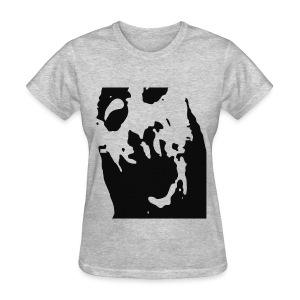 Black Cutout - Women's T-Shirt