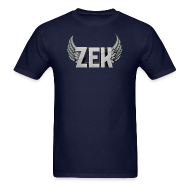 T-Shirts ~ Men's T-Shirt ~ Zek Logo Plain - Adult