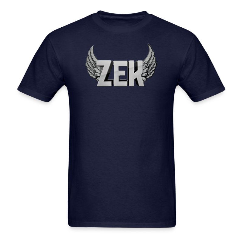 Zek Logo Plain - Adult - Men's T-Shirt