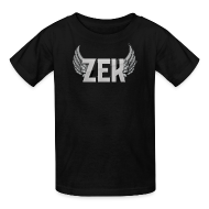 Kids' Shirts ~ Kids' T-Shirt ~ Zek Logo Plain - Kid