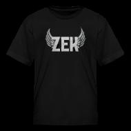 Kids' Shirts ~ Kids' T-Shirt ~ Zek Logo Plain - Kid