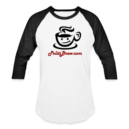 PolitiBrew Logo SF Design - Baseball T-Shirt