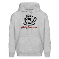 Hoodies ~ Men's Hoodie ~ PolitiBrew Logo SF Design
