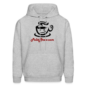 PolitiBrew Logo SF Design - Men's Hoodie