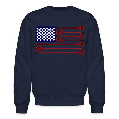 Lacrosse Americasgame Long Sleeve Shirts - Crewneck Sweatshirt
