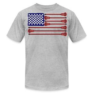 Lacrosse Americasgame T-Shirts - Men's Fine Jersey T-Shirt