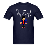 T-Shirts ~ Men's T-Shirt ~ Stay Zexy Full - Adult