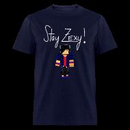 T-Shirts ~ Men's T-Shirt ~ Stay Zexy Full - Adult